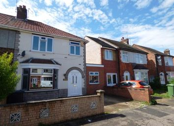 Thumbnail 3 bed semi-detached house for sale in Peveril Road, Dogsthorpe, Peterborough, Cambridgeshire