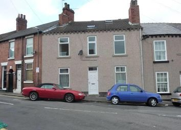 Thumbnail 2 bed terraced house to rent in Dowdeswell Street, Chesterfield, Derbyshire