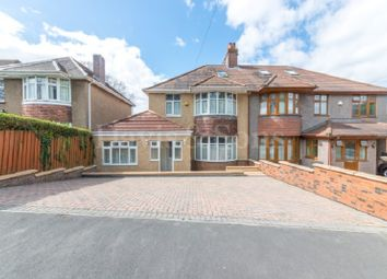 Thumbnail 3 bedroom semi-detached house for sale in Clevedon Road, Off St Julians Road, Newport.