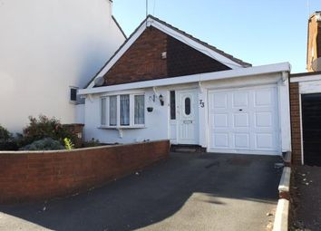 Thumbnail 2 bed bungalow for sale in Bloxwich Road South, Willenhall, West Midlands