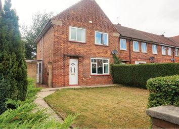 Thumbnail 3 bed end terrace house for sale in Norwood Avenue, Rotherham