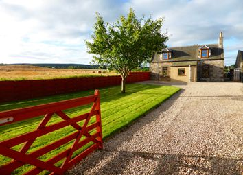 Thumbnail 4 bed detached house for sale in Birnie, Elgin