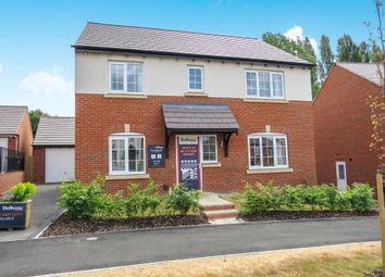 Thumbnail 4 bed detached house for sale in Burton Road, Ashby-De-La-Zouch