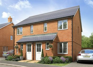 "Thumbnail 2 bed terraced house for sale in ""The Alnwick "" at Princess Gardens, Grove, Wantage"