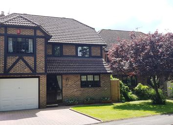 Thumbnail 4 bed detached house for sale in Lashmere, Copthorne, Crawley