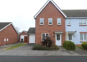 Thumbnail 3 bed end terrace house to rent in Wards View, Kesgrave, Ipswich