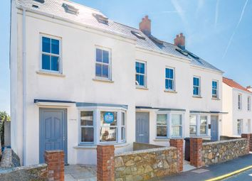 Thumbnail 2 bed end terrace house for sale in Church Road, St. Sampson, Guernsey