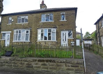 Thumbnail 3 bed semi-detached house for sale in St Leonards Grove, Bradford, West Yorkshire