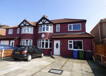Thumbnail 4 bed semi-detached house for sale in Malpas Drive, Great Sankey, Warrington