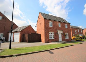 Thumbnail 3 bed detached house for sale in Niagara Close, Coventry