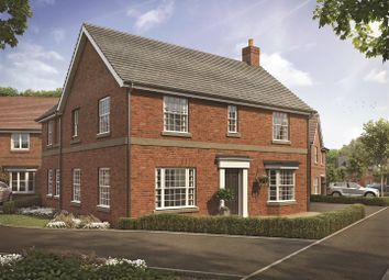Thumbnail 4 bed detached house for sale in The Green, Ullesthorpe, Lutterworth