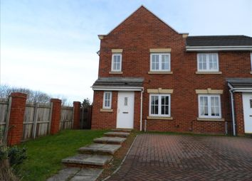 Thumbnail 3 bed semi-detached house to rent in Fenwick Way, Consett