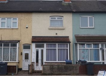 Thumbnail 3 bedroom terraced house for sale in Tame Road, Birmingham