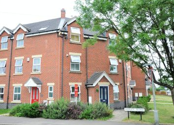 Thumbnail 3 bed terraced house for sale in Hopley Road, Anslow, Burton-On-Trent