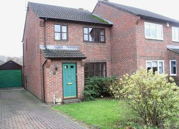 Thumbnail 3 bed semi-detached house for sale in Mill Holme, Broadmeadows, South Normanton, Alfreton