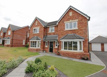 Thumbnail 5 bed detached house for sale in Fieldings Close, Longton, Preston