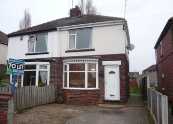 Thumbnail 2 bed semi-detached house to rent in Shakespeare Avenue, Doncaster