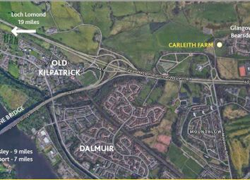 Thumbnail Land for sale in Duntocher, Clydebank