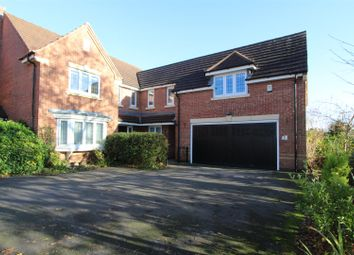 Thumbnail 5 bed detached house for sale in Sherroside Close, Allestree, Derby
