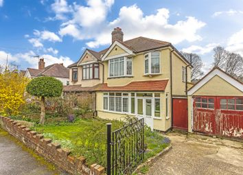 Thumbnail 3 bed semi-detached house for sale in Pine Walk, Banstead