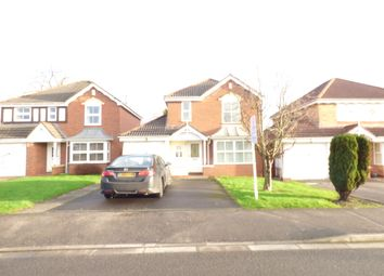Thumbnail 4 bed detached house to rent in Goldcrest Road, Cinderhill, Nottingham