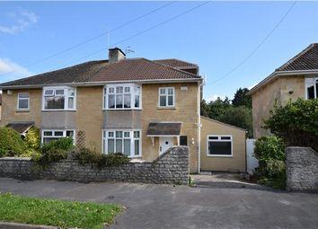 Thumbnail 4 bedroom semi-detached house for sale in Egerton Road, Bath, Somerset