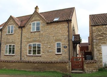 Thumbnail 3 bed semi-detached house for sale in Main Street, Sudbrook, Grantham