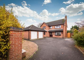 Thumbnail 4 bedroom detached house for sale in Reepham Road, Hellesdon, Norwich