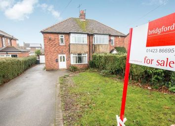 Thumbnail 3 bedroom semi-detached house for sale in Wetherby Road, Knaresborough, North Yorkshire, .