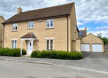 Thumbnail 4 bed detached house to rent in Stickleback Road, Calne