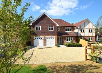 Thumbnail 5 bed detached house for sale in Reading Road, Eversley, Hook