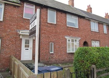 Thumbnail 3 bedroom terraced house to rent in Benson Road, Walker, Newcastle Upon Tyne