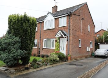 Thumbnail 3 bed semi-detached house for sale in Bevan Close, Elsecar, Barnsley