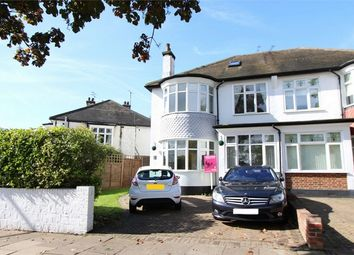 Thumbnail 4 bed semi-detached house for sale in Ridgeway Gardens, Westcliff-On-Sea, Essex