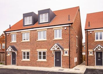 Thumbnail 4 bed semi-detached house for sale in Ivy Court, Brook Street, Selby