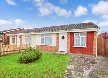Thumbnail 2 bed semi-detached bungalow for sale in Mead Green, Lords Wood, Chatham, Kent