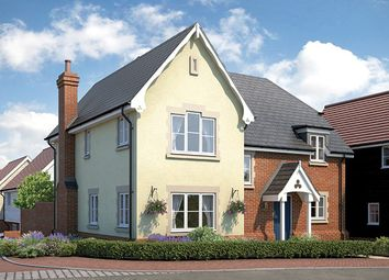 "Thumbnail 4 bed property for sale in ""The Oakham"" at Church Road, Stansted"