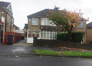 Thumbnail 3 bed semi-detached house to rent in Carr Manor Avenue, Moortown