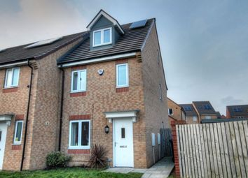 Thumbnail 3 bed terraced house for sale in Brookville Crescent, Slatyford, Newcastle Upon Tyne