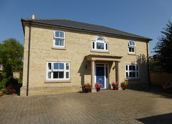Thumbnail 5 bedroom detached house for sale in Old Convent Fields, Wisbech