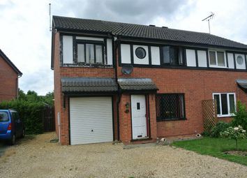 Thumbnail 3 bed semi-detached house for sale in Bakers Way, Morton, Bourne, Lincolnshire