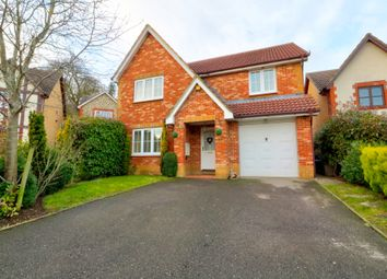 Thumbnail 4 bed detached house for sale in Whitebeam Close, Ashford
