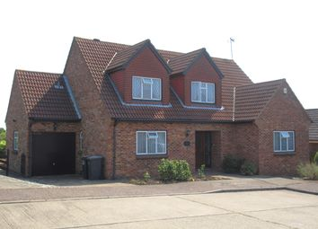 Thumbnail 4 bed detached house to rent in Highcliff Crescent, Ashingdon, Rochford
