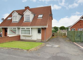 Thumbnail 3 bed semi-detached house for sale in Penrhyn Park, Newtownards