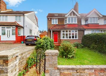 Thumbnail 4 bed semi-detached house for sale in Crest Road, London