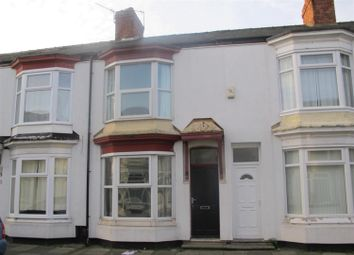 Thumbnail 2 bed terraced house to rent in Wicklow Street, Middlesbrough