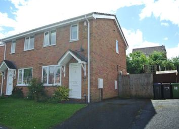 Thumbnail 2 bed semi-detached house for sale in Beckbury Drive, Stirchley, Telford, Shropshire.