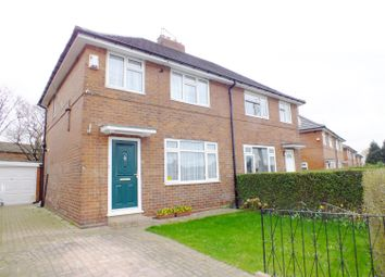 Thumbnail 3 bed semi-detached house for sale in Amberton Mount, Leeds, West Yorkshire