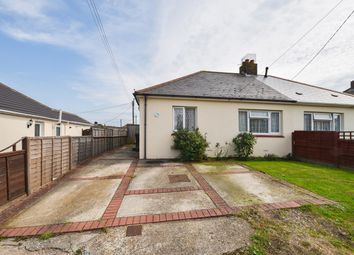 Thumbnail 3 bed semi-detached bungalow for sale in Victoria Road, Capel-Le-Ferne, Folkestone