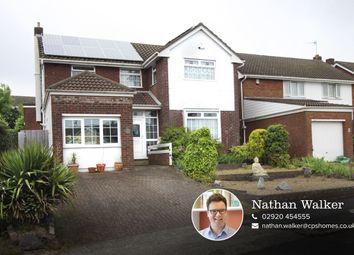 Thumbnail 3 bed detached house for sale in Dylan Close, Llandough, Penarth